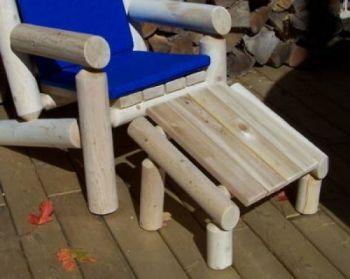 Fantastic Outdoor Log Footrest Ottoman Dundalk Canada Barrel Dailytribune Chair Design For Home Dailytribuneorg