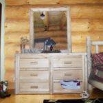 Mirror shown on dresser (Dresser not included)