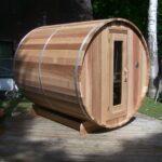 7x8 Barrel Sauna