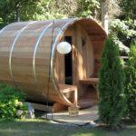7x8 Sauna with Porch
