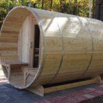 7x7 Knotty Red Cedar With Porch
