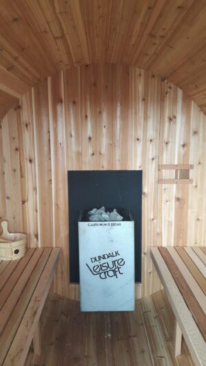 Traditional sauna heater