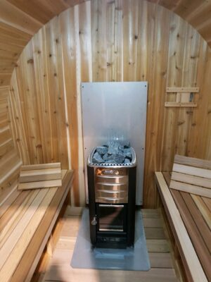 Harvia heater in sauna