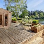 Outdoor red cedar cabin sauna 6x4 your western canada for Dundalk leisure craft outdoor cabin sauna