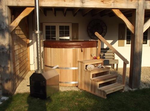 Wood Burning Hot Tub Dundalk Canada Barrel Saunas
