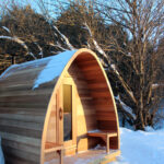Big Pod Sauna with Porch