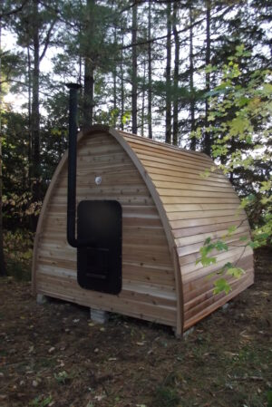 bevel siding for sauna