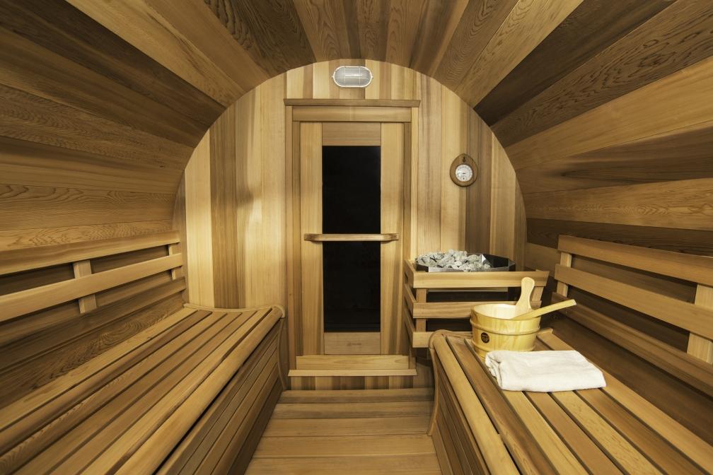 Panoramic View Barrel Sauna 74 Quot X 6ft Dundalk Canada