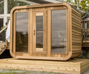 Luna outdoor sauna